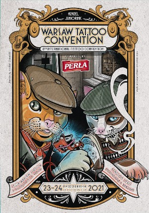 Warsaw Tattoo Convention 23 October 2021
