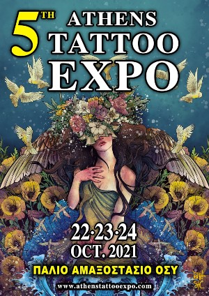 Athens Tattoo Expo 22 October 2021