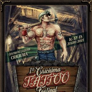 Criciúma Tattoo Festival 2021 poster min