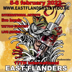 East Flanders Tattoo Convention 6 February 2022