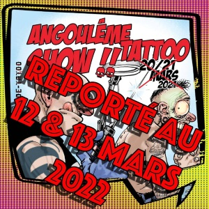 Angouleme Tattoo Show 12 March 2022