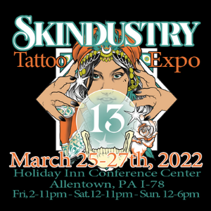 Skindustry Tattoo Expo 25 March 2022