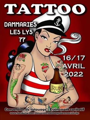 Dammarie Les Lys Tattoo Ink 16 April 2022