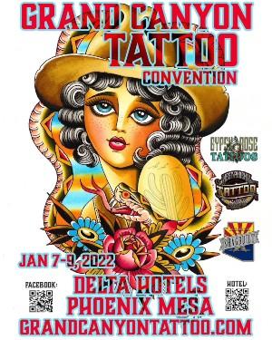 Grand Canyon Tattoo Convention 7 January 2022