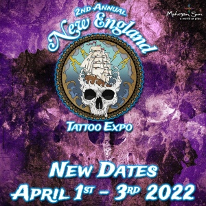 New England Tattoo Expo 1 April 2022
