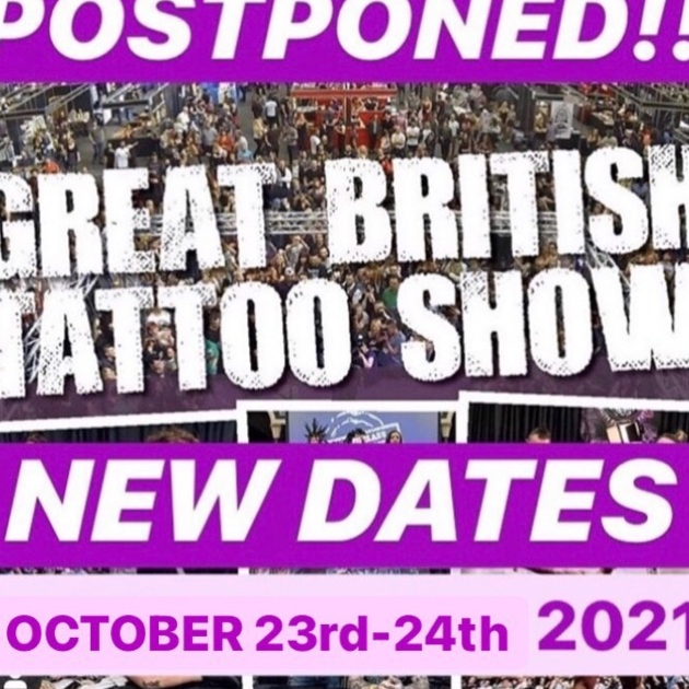 The Great British Tattoo Show 23 October 2021