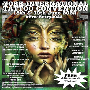 York Tattoo Convention 18 June 2022