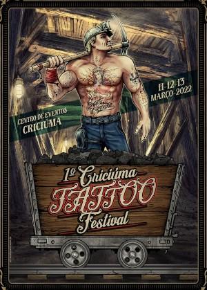 Criciúma Tattoo Festival 11 March 2022