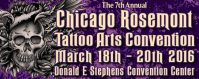Chicago Tattoo Arts Convention 18 March 2022