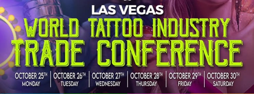 Upcoming Tattoo Conventions Calendar 2021/2022 1 January 2019