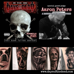 Days of the Dead Tattoo Expo 17 July 2021