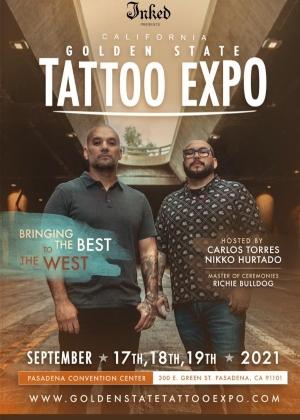 Golden State Tattoo Expo 17 September 2021