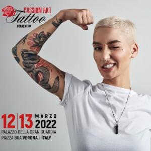 Passion Art Tattoo Convention Verona 12 March 2022