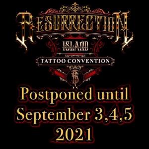 Resurrection Island Tattoo Convention 3 September 2021