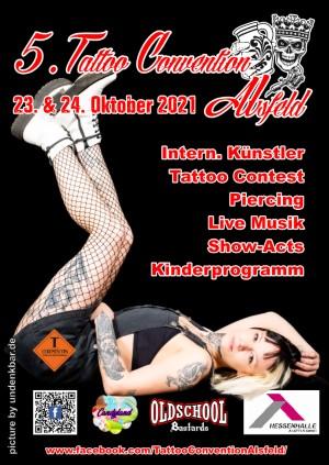 5th Alsfeld Tattoo Convention 23 October 2021