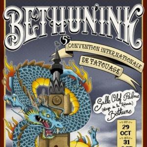 Béthunink Tattoo Convention 29 October 2021
