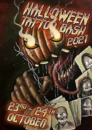 Halloween Tattoo Bash 23 October 2021