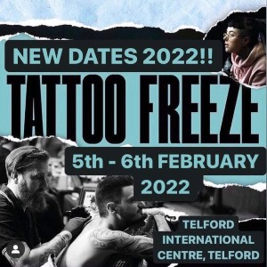 Tattoo Freeze 5 February 2022